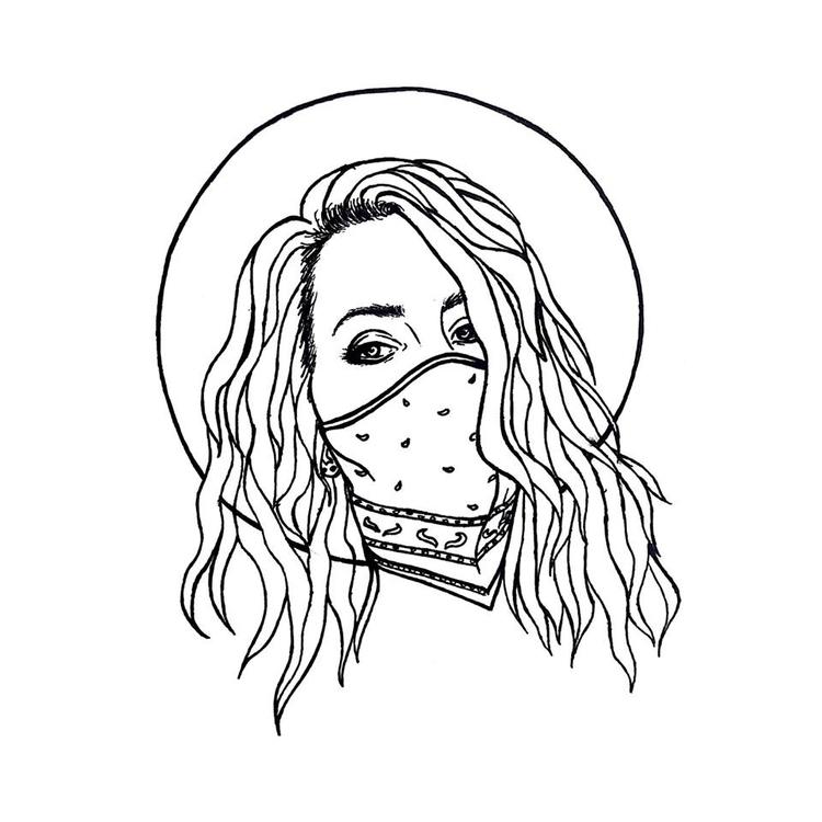 Love Lana - illustration, ink, penink - diegold | ello