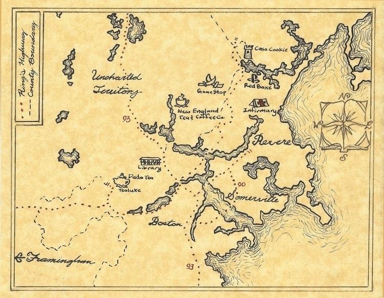 Map - gift map Revere, MA area - abrianc | ello