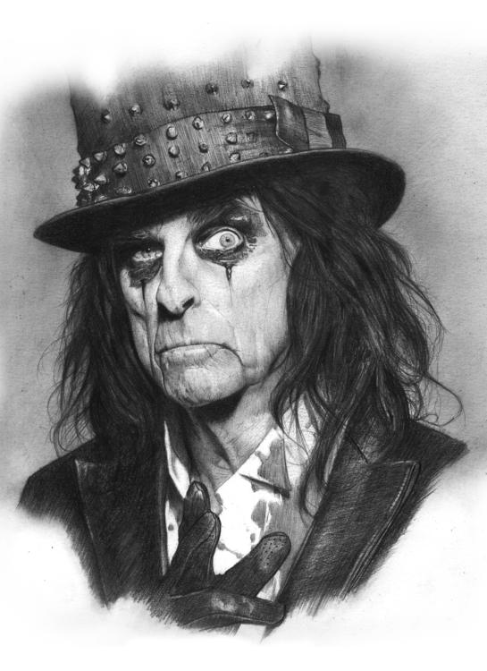 Alice Cooper - portrait, alicecooper - arnaud-1410 | ello