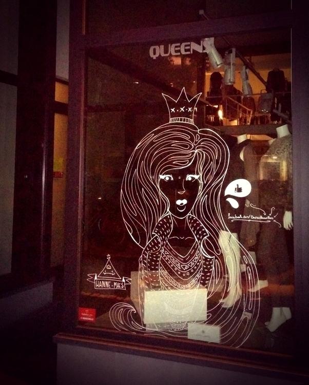 Window Paint - street, streetart - hannemaes | ello