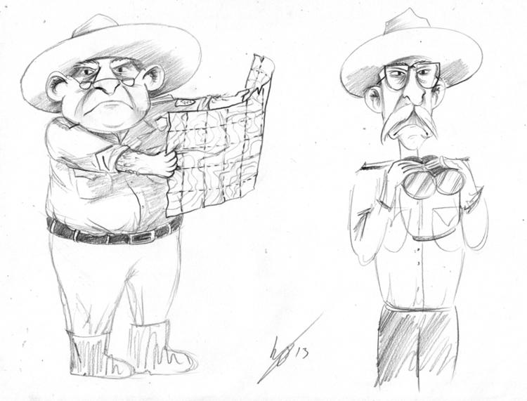 Character design Forest Rangers - kellybreemer | ello