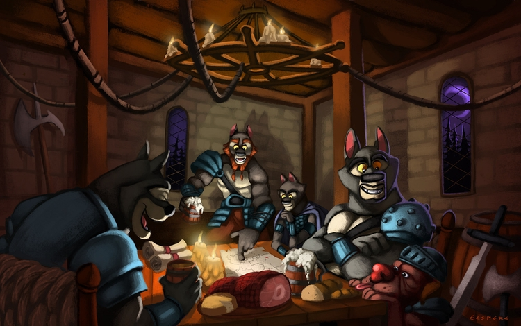 Adventures Good Meal - illustration - greevixor | ello