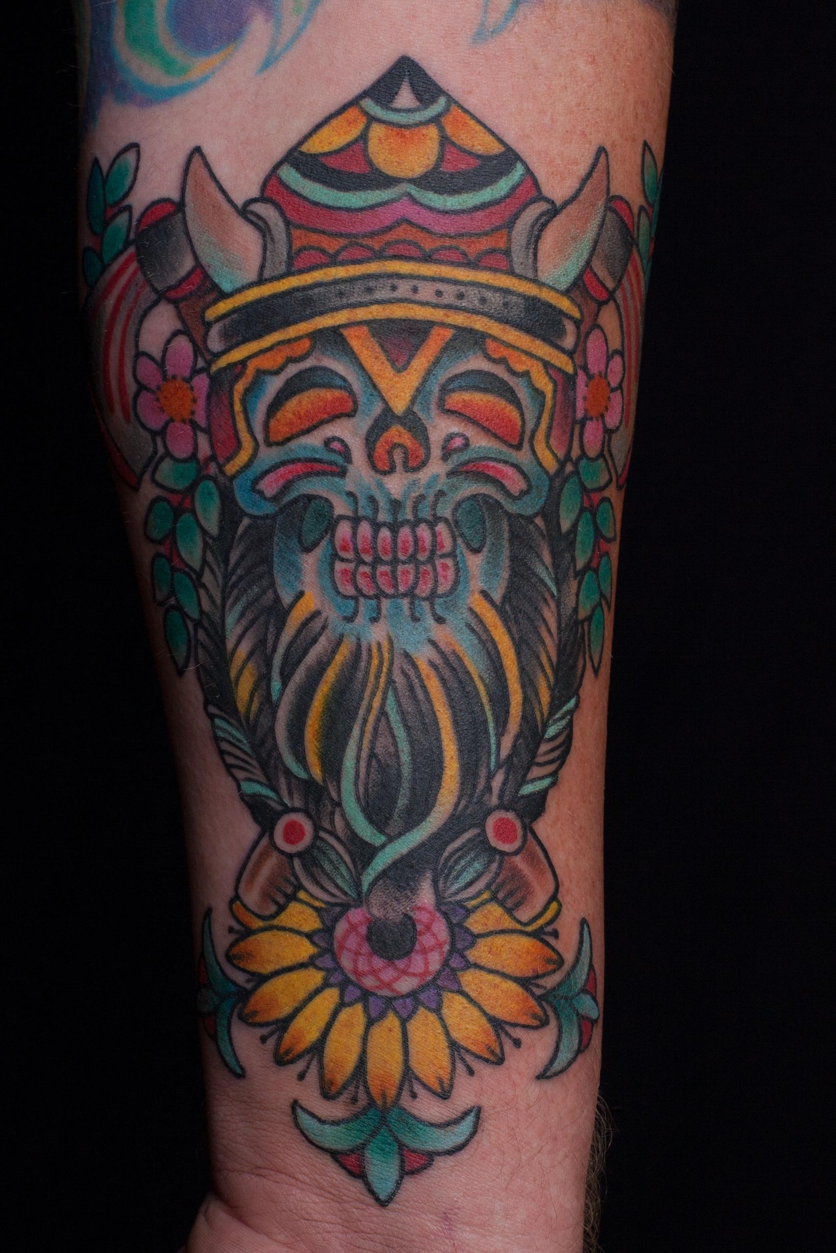 Viking - viking, matthodel, tattoo - matthewhodel | ello