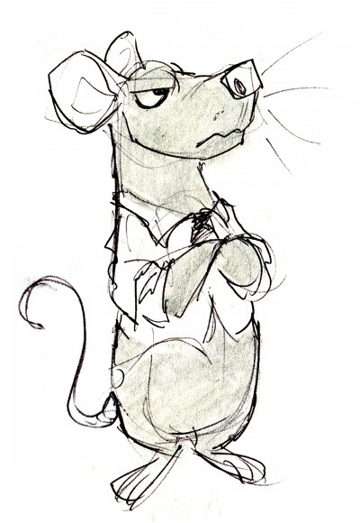 Office mouse - sketch, traditionalart - greevixor | ello