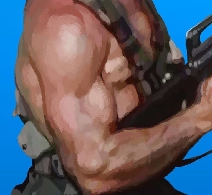 Muscles closeup RiffTrax: Deadl - jasonmartin-1263 | ello
