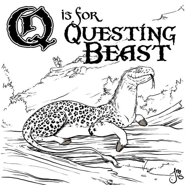 Questing Beast Part mythical cr - jasonmartin-1263 | ello