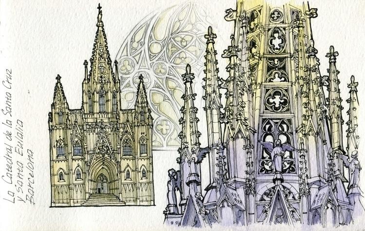 La Catedral de la Santa Cruz Eu - dasha_sava | ello