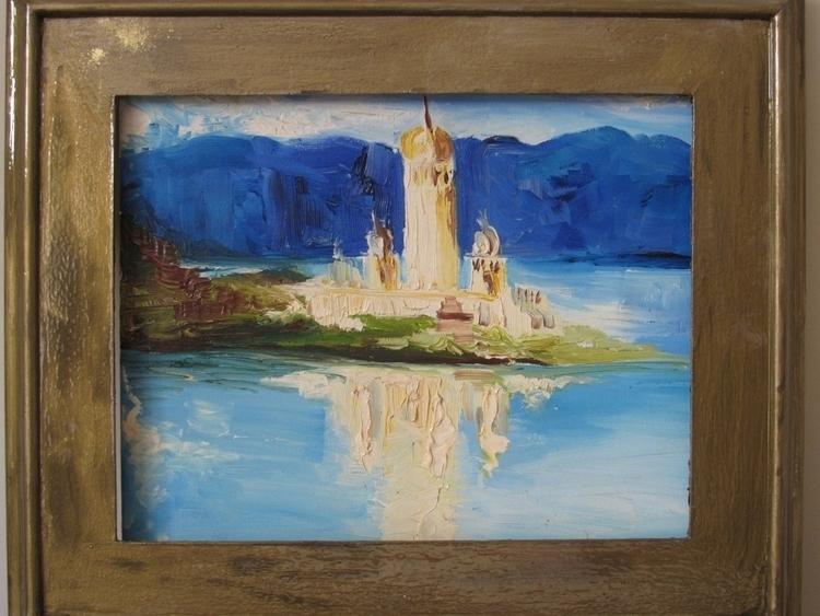 Polar Observatory - Oil Canvas - vanniegama | ello