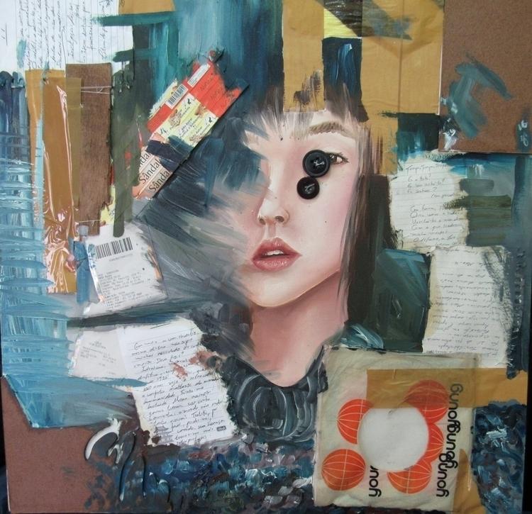 Artist Book - Oil mixed materia - vanniegama | ello