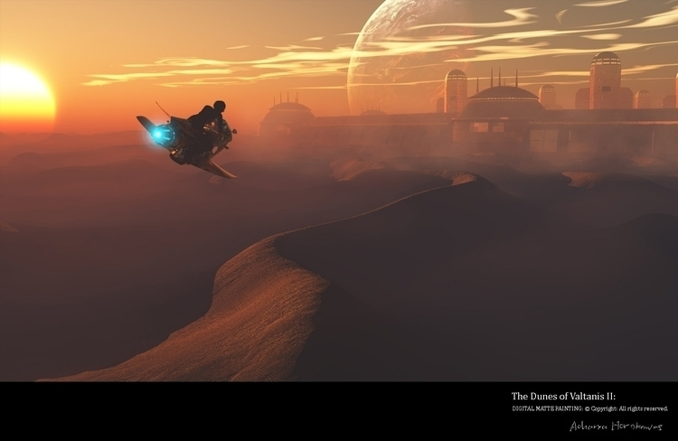 Dunes Valtanis II - illustration - acharyapolina | ello
