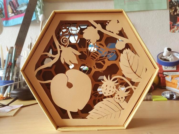 Bee Boxes (part 3 8). Box - linbhu   ello