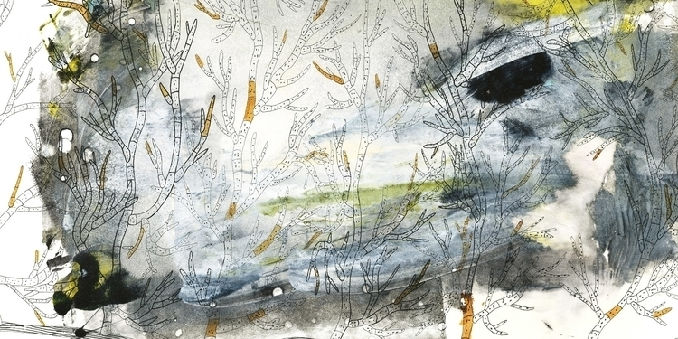 conceptual, monotype, pen, grow - marikeleroux | ello