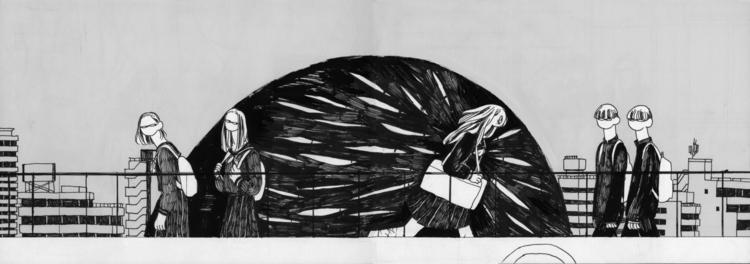 5 - illustration, pen - mioim | ello