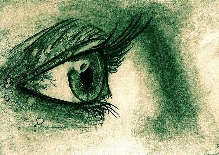 olho, eyes, realistic, face - amandaloyolla | ello