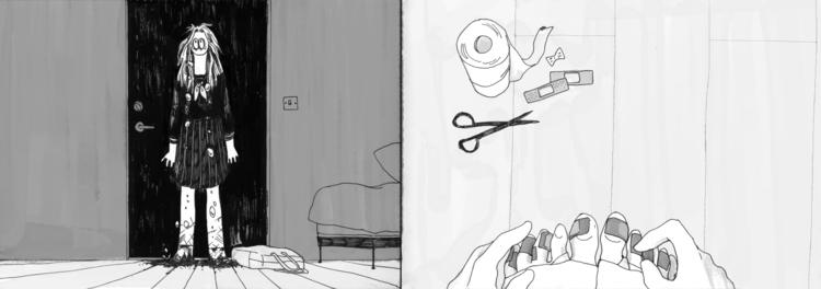 8 - illustration, pen - mioim | ello