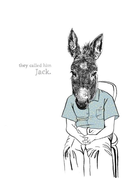 Jackass - illustration, portrait - marikeleroux | ello