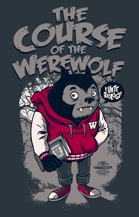 Werewolf - design, werewolf, teenwolf - rusc | ello