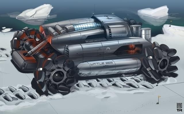 Citroen Bee - conceptart, car, cardesign - rash-3266 | ello