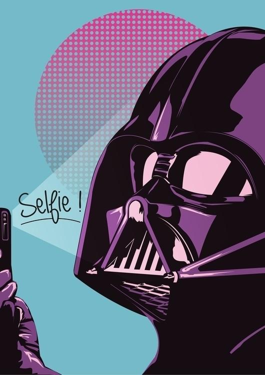 Vader selfie  - darthvader, vader - jerryleebernard | ello