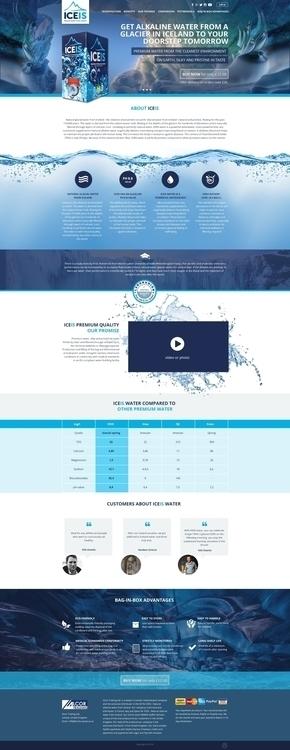 ICEIS Water Landing Page - landingpage - alexandrapopova   ello