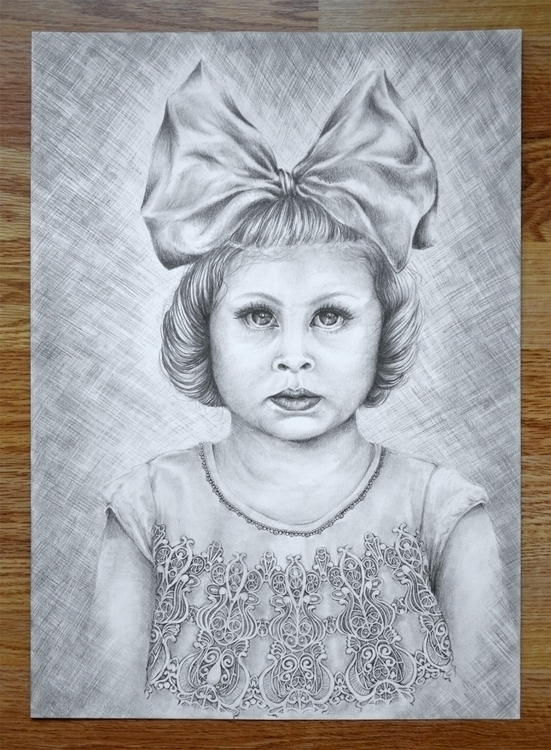 Girl - illustration, drawing, pencildrawing - henrieke-4064 | ello