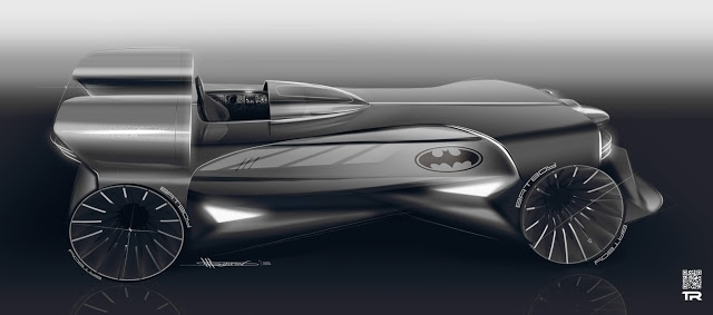 Batmobile TR vision - car, cardesign - rash-3266 | ello