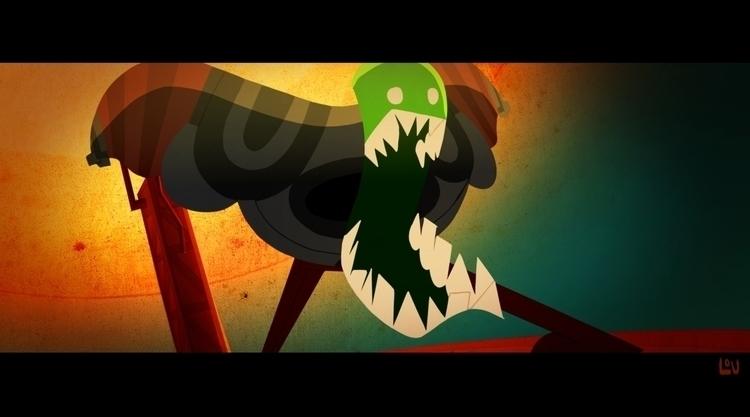 frame short film - animation, characterdesign - louvictorsk | ello