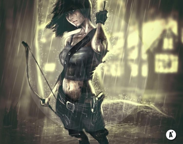 'Tomb Raider Reborn - illustration - agent23-5248 | ello