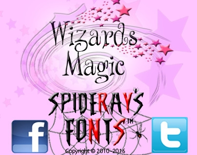 reading magical Harry Potter bo - spideraysfonts-1396 | ello