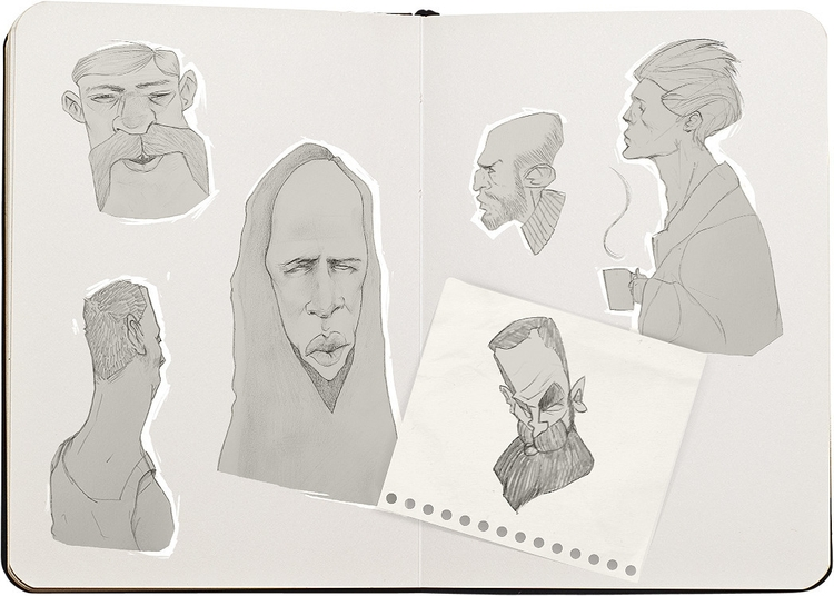 illustration, characterdesign - sang-2960 | ello