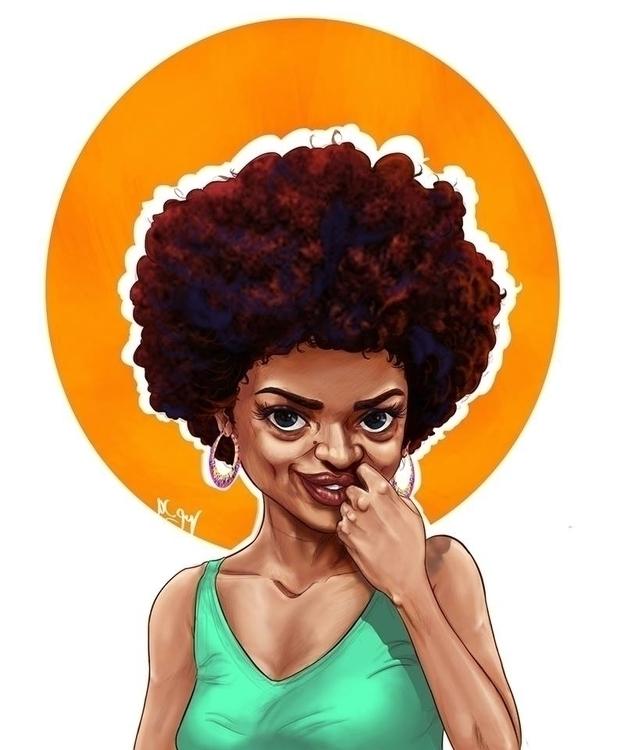 portrait pretty black girl. fal - mahmoudswielam | ello