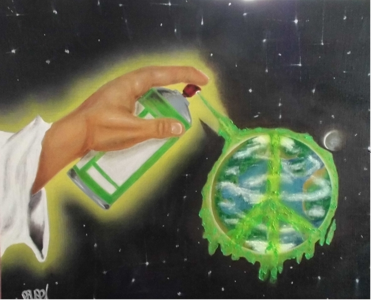 green pausecbs - painting, environment - pausecbs   ello