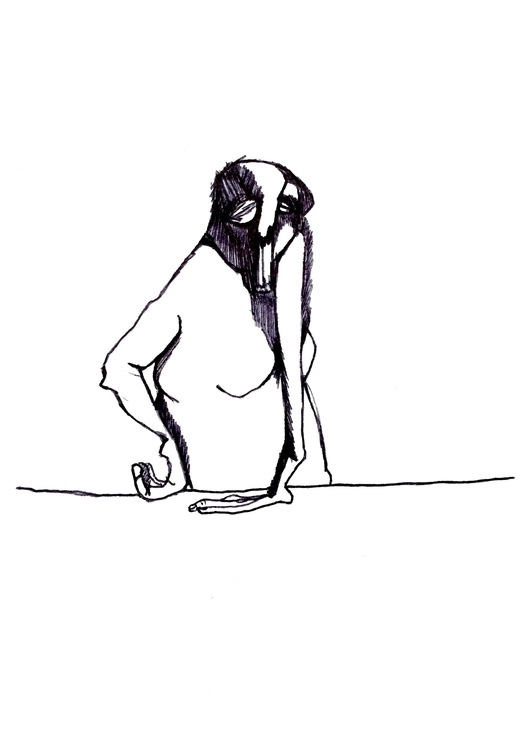 21.03 - drawing, illustration, portrait - pallelarsdotter | ello