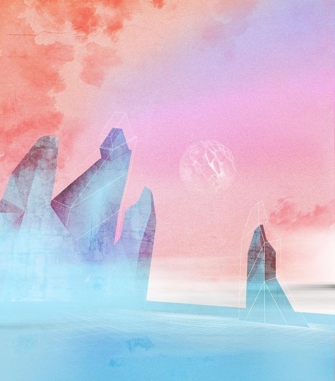 Stray Pilgrim - Concept 1 - collage - alexmercier | ello