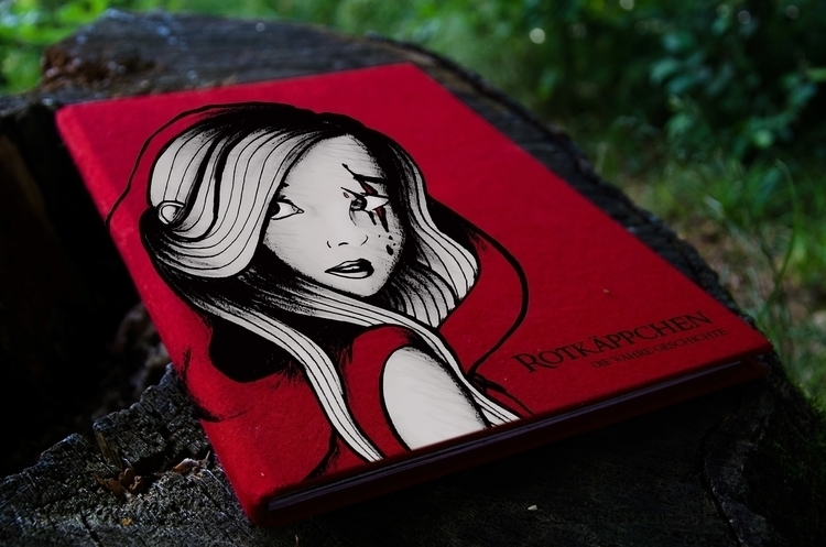 illustration, storytelling, bookbinding - christinarrr | ello