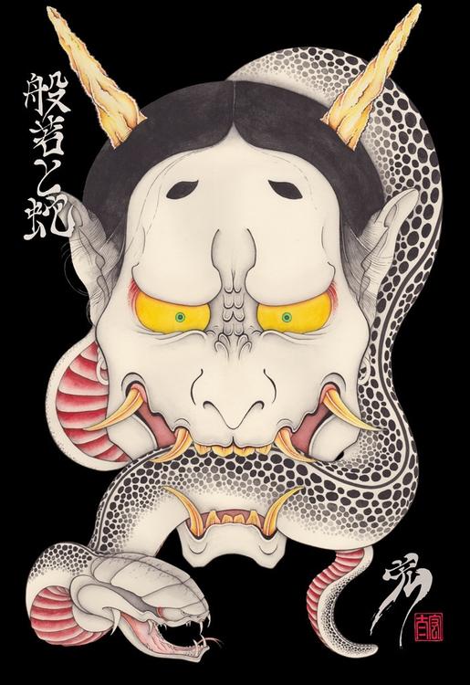 Hannya snake - hannya - kota_nakatsubo   ello