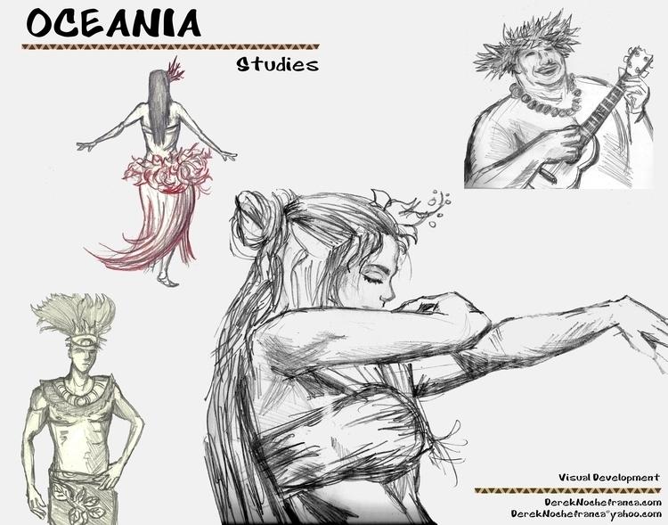 OCEANIA Packet (7 8) character  - dereknochefranca | ello