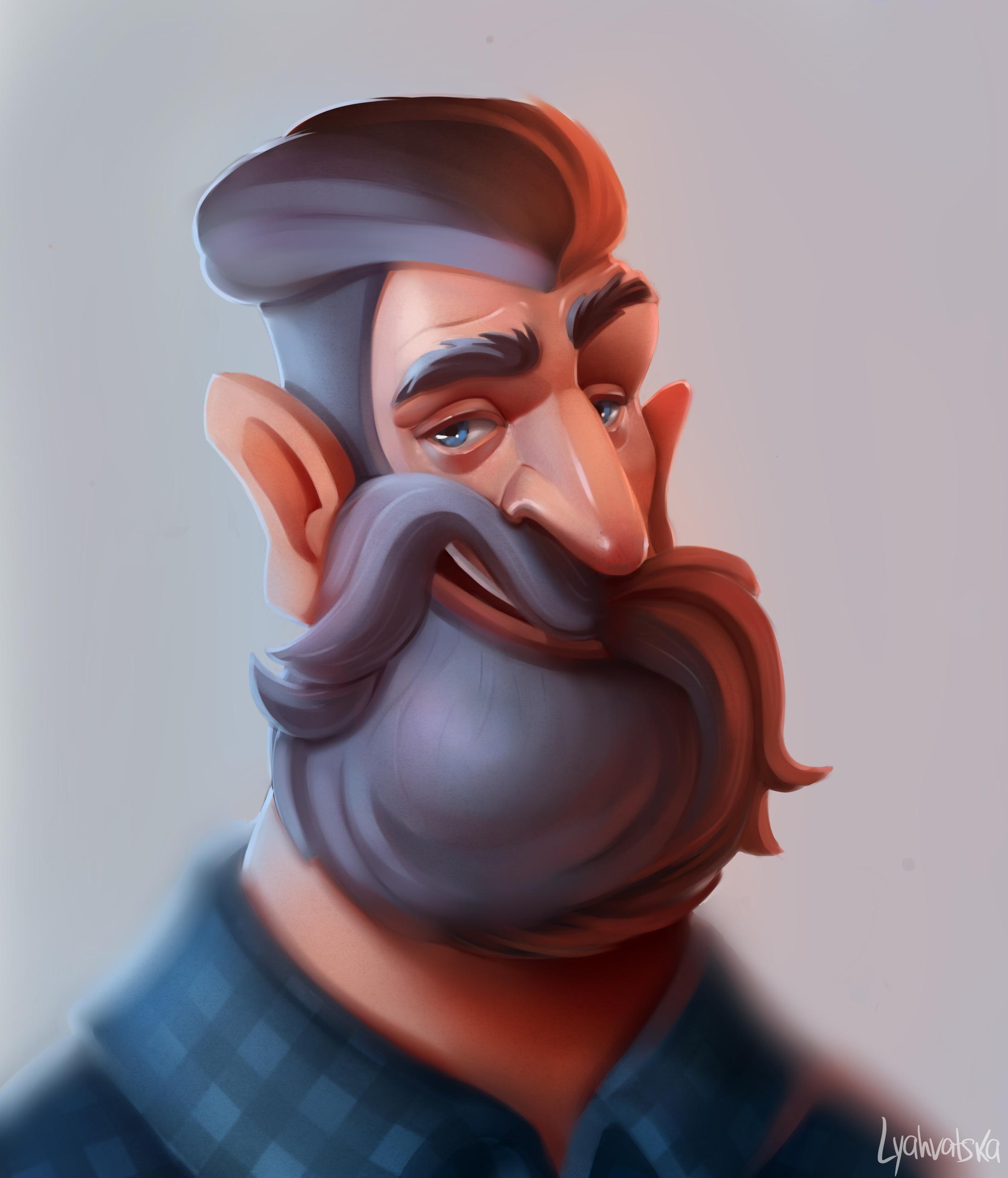 characterdesign, character, conceptart - natalialyahvatska | ello