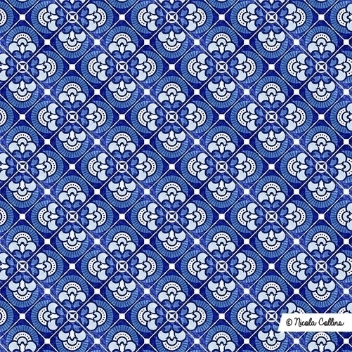 Azulejo tile seamless repeat pa - nicky9 | ello