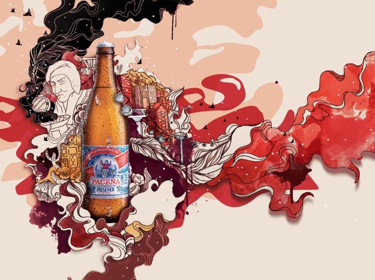 paceña - ilustracion, beer - dirago | ello