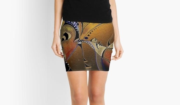 pencil skirt abstract digital p - wolfgangschweizer | ello