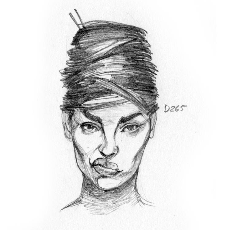 gesturedrawing, portrait, 30minportrait - gleissoncipriano | ello