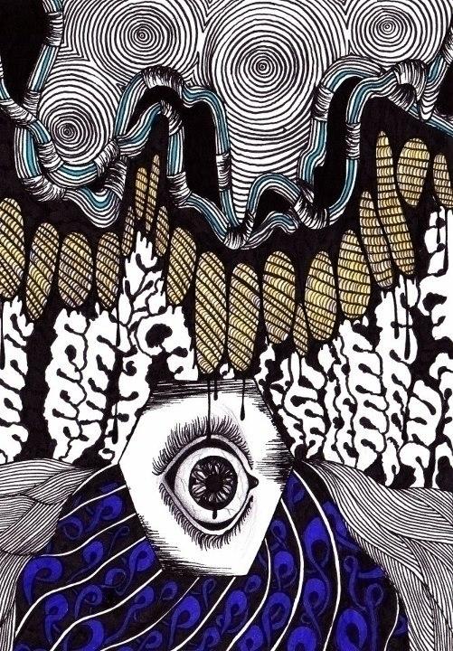 Psychedelic Eye - psychedelic, eye - bibs-6812 | ello
