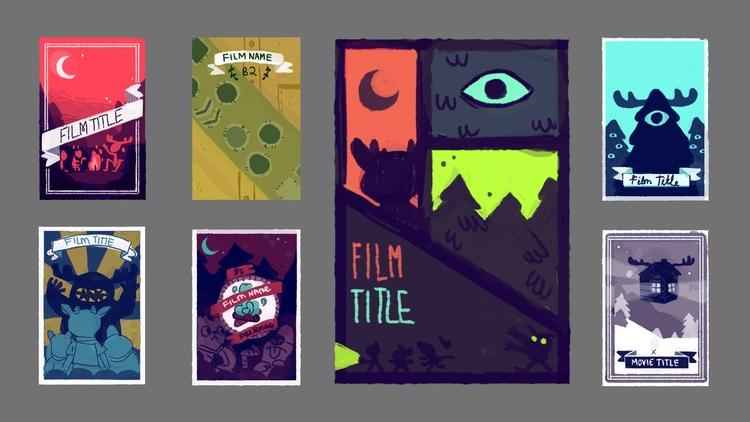 potential group film poster des - cloodiedraws | ello