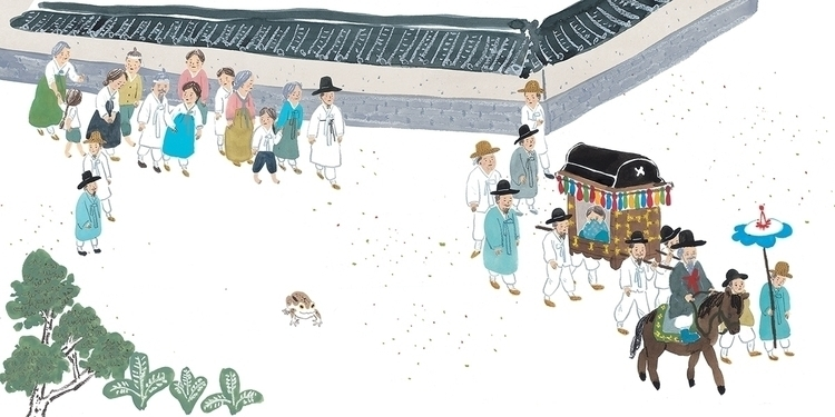illustration, , KoreanFolkTale - jungeun-9465 | ello