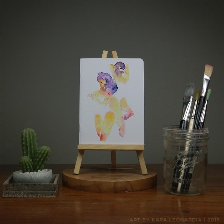 GIRLS - illustration, painting, notebooks - renka002 | ello