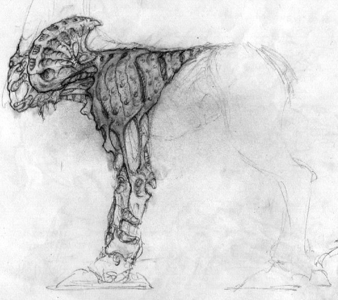 Centaur creature design - cristianmonteslynch | ello