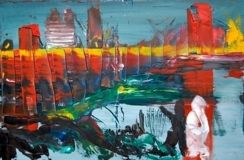 Dream - dream, abstract, painting - lavott | ello
