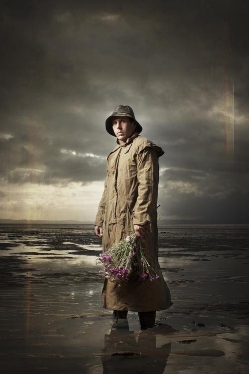 Fisherman Holds Flowers - foghetamine - marham1160 | ello