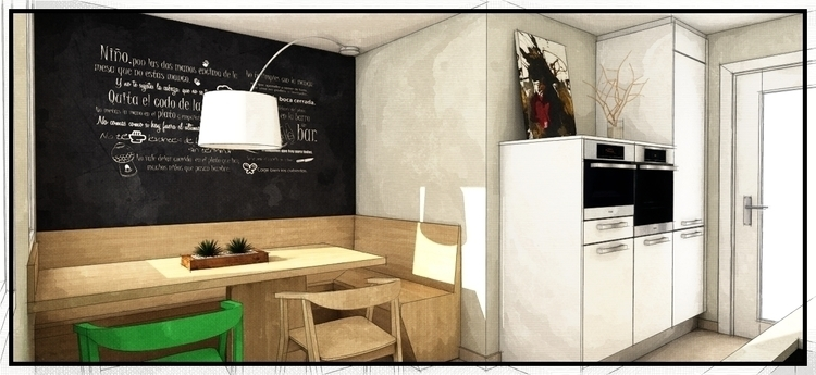 design, 3d, kitchendesign, interiordesign - kookstudio | ello